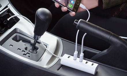 Aduro PowerUp 6-Amp 5-Port USB Car Charger