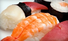 Sushi and Japanese Food at Hananoki Japanese Restaurant Cafe (Half Off). Two Options Available.