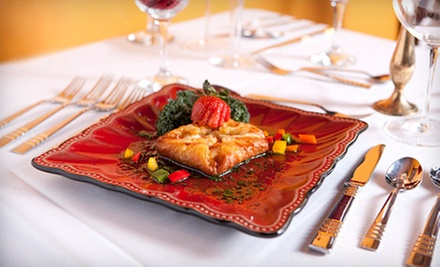 Four-Course European Dinner for Two with Wine at Pavoni's Wine Bar at Ciao Bella (Up to 76% Off). Two Options Available.