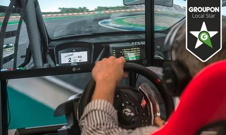 Autódromo Virtual de Lisboa — Carnaxide: corrida virtual de 1h ou 2h para 2, 4, 6 ou 8 pessoas desde 14€