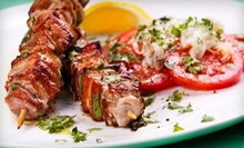 Middle Eastern Dinner with Appetizers and Desserts for Two or Four at Cedars Restaurant (Up to 53% Off)
