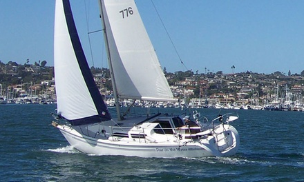 Two-Day US Sailing Basic Keelboat Sailing Course for One at Harbor Island Yacht Club (Up to 57% Off)