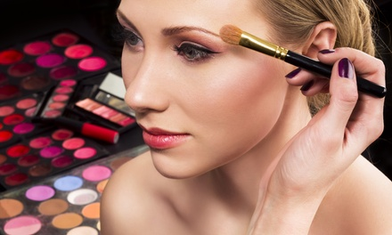 90-Minute Private Makeup Lesson with Brow Shaping for One or Two at Soho Lashes (Up to 73% Off)