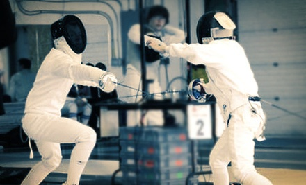 $49 for Four Adult or Kids' Fencing Classes with Equipment and Membership at Sparta Fencing Club ($175 Value)