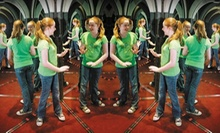 Admission for Two or Four to the Ultimate Mirror Maze Challenge and The Vault Laser Beam Challenge (Up to 67% Off)