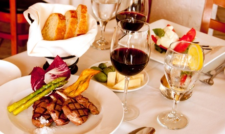 Italian Dinner Cuisine for Two or Four (Up to 38% Off)