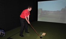 $30 for Two Hours of Golf-Simulator Play for Up to Eight People at Brookfield Indoor Golf Club (Up to $70 Value)