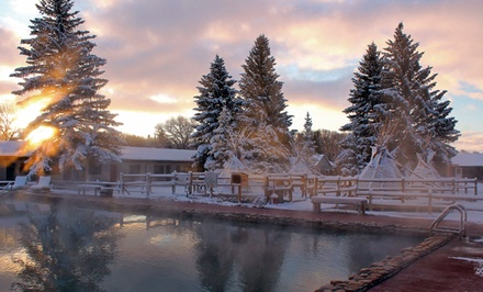 groupon daily deal - 1-Night Stay for Two with Optional Dining and Spa Credits at Saratoga Resort and Spa in Saratoga, WY