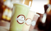$10 for $20 Gift Card for Coffee, Pastries, Yogurt, and More at Scooter's Coffee &amp; Yogurt