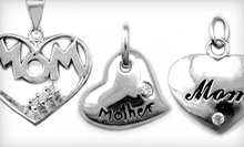 $15 for a Sterling-Silver Mothers' Day Heart-Pendant 18-Inch Silver Chain at Silver Street Jewellers (a $59.99 Value)