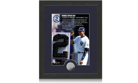 Derek Jeter Day Framed 12