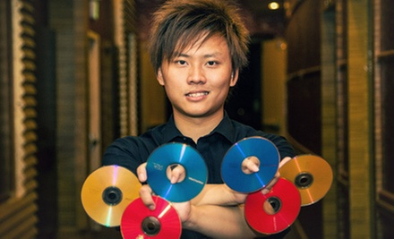 Dan Chan Presents Alex Wu: Dinner and Magic Show for Two, Four, or Eight (Up to 55% Off)