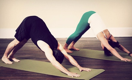 10 or 30 Yoga Classes at BambooMoves (Up to 83% Off)