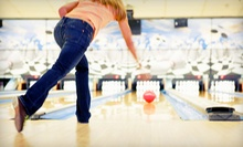 Daytime Bowling for Four or Nighttime Bowling for Four or Eight with Shoe Rental at First State Lanes (Up to 74% Off)