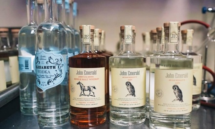 Weekend Distillery Tour for Two or Four at John Emerald Distilling (45% Off)