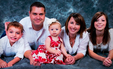 $49 for a 45-Minute Photo Shoot for Up to Six with Prints and Digital Images at Fireworks Photography ($185 Value)