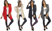 GROUPON: Free to Live Women's Open-Front Cardigan Active Craze DBA Smooth Fashion