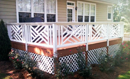 $50 for Power Washing for Deck Up to 250 Sq. Ft.from The Deck Doctor ($125 Value) 