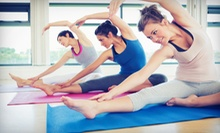 5 or 10 Yoga, Pilates, and Zumba Classes at Dance Soul Motion (Up to 61% Off)