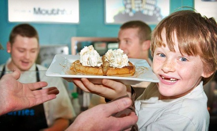 C$8 for C$16 Worth of Gourmet Waffles at West Coast Waffles