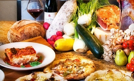 $10 for $20 Worth of Gourmet Pizza and Drinks at Humble Pie