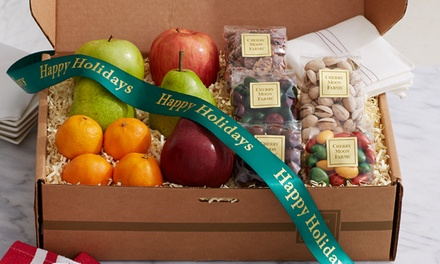 $20 for $40 Worth of Fresh Fruit, Cookies, Chocolates, and Gourmet Gifts from Cherry Moon Farms