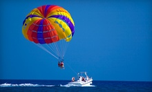 $75 for 7- to 10-Minute Parasailing Ride for Two at Aloha Watersports ($150 Value)