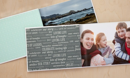 20-Page Custom Classic or Deluxe Photo Book from MyPublisher (Up to 79% Off)