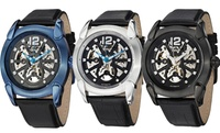 GROUPON: Stührling Original Men's Skeleton Automatic Watch Stührling Original Men's Skeleton Automatic Watch