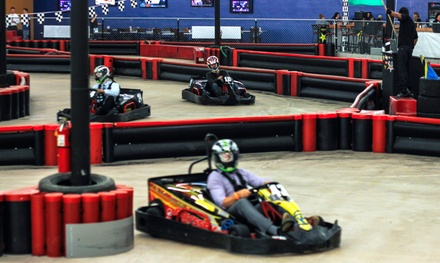 Go-Kart Packages at Phoenix Indoor Karting (Up to 75% Off). Three Options Available.