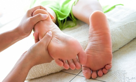 Reflexology and Foot Massage at Healthy Zu Spa foot massage and relaxation retreat (Up to 51% Off).