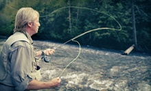 Two-Hour Fly-Casting Lesson for One, Two, or Eight at All Rivers &amp; Saltwater Charters (Up to 66% Off)