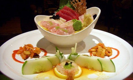 $15 for $30 Worth of Japanese Food, Hibachi, and Sushi at Takara Japanese Steakhouse