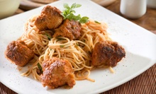 Italian Cuisine at Luigi's Italian Restaurant (Half Off). Two Options Available.