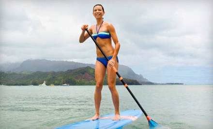 Two-Hour Group Standup-Paddleboarding Lesson and Tour for One or Two from Hawaiian Surf Adventures (Up to 51% Off)