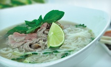Vietnamese Food at Pho DLite (Half Off). Two Options Available.