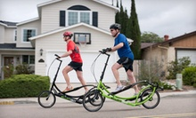 One-Day ElliptiGo Exercise-Machine Rental for Two or Four from Push Pedal Pull (69% Off)
