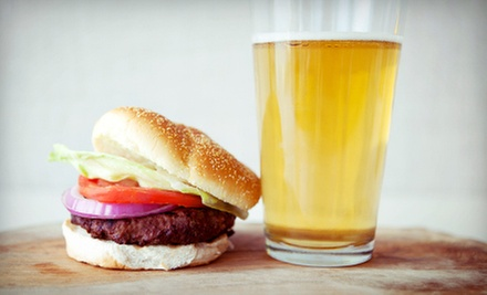 Burgers and Beer for Two or Four at Miller's Corner Bar and Grill (Up to 53% Off)