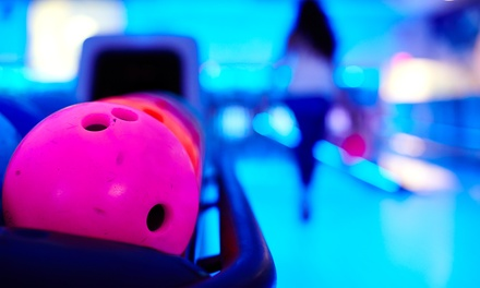 Weekend Cosmic Bowling for 2, 4, or 6 or Weekday Bowling for 2 at Regency Lanes Bowling Center (Up to 50% Off)