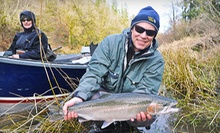 All-Day Fly-Fishing Lesson for Two or Four from Castaway Guide Service (Up to 68% Off)