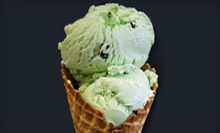 $10 for Five-Visit Punch Card at Reno's Ice Cream & Water Ice ($20 Value)