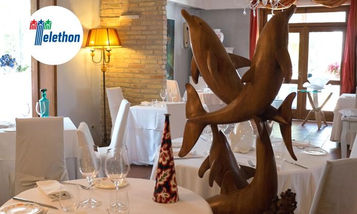 Ristorante Pascucci Al Porticciolo - Fiumicino (RM): Pascucci Al Porticciolo, una stella Michelin - Menu degustazione di pesce o crudi di mare