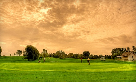 18-Hole Round of Golf for Two or Four with Cart and Food Voucher at Widder Station Golf & Country Club (Up to 48% Off)
