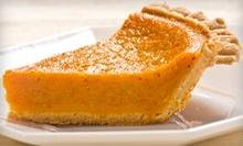 Two or Four Sweet-Potato Pies at Cafe Lizzi (53% Off)