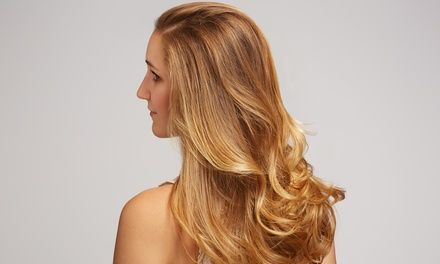$42 for Haircut, Blow-Dry, Style, and Seven-Foil Highlight at YHL Salon ($115 Value)
