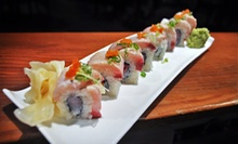 Sushi and Japanese Dinner for Two or Four at 2G Japanese Brasserie (Up to 43% Off)