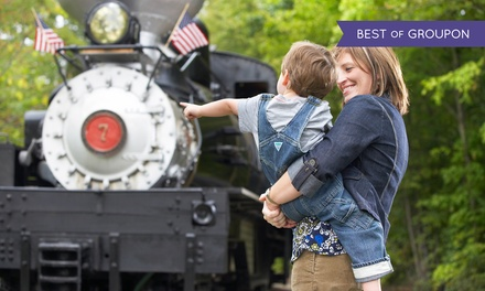 4-Train-Ride Tickets for Two, Four, or Six at Hesston Steam Museum (Up to 52% Off)
