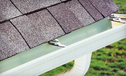 Gutter Cleaning for a 2,500-, 3,500-, or 4,500-Square-Foot Home from D&amp;K Windows and Gutters (Up to 78% Off)