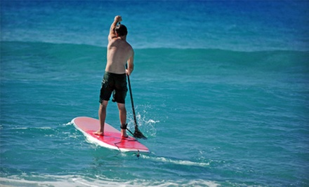 Two-Hour Standup Paddleboard Rental, Four-Hour Soft-Top Surfboard Rental, or Both from OEX La Jolla (Up to 60% Off)