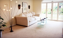 $59 for Carpet Cleaning for Three Rooms and One Hallway from Crimson & Blue Carpet Care ($120 Value)